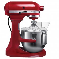 robot KitchenAid 4.8L blanc ou rouge