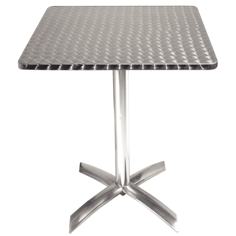 Table de bistro ronde carr e ou rectangulaire for Table exterieur d occasion