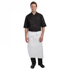 Tablier de chef blanc