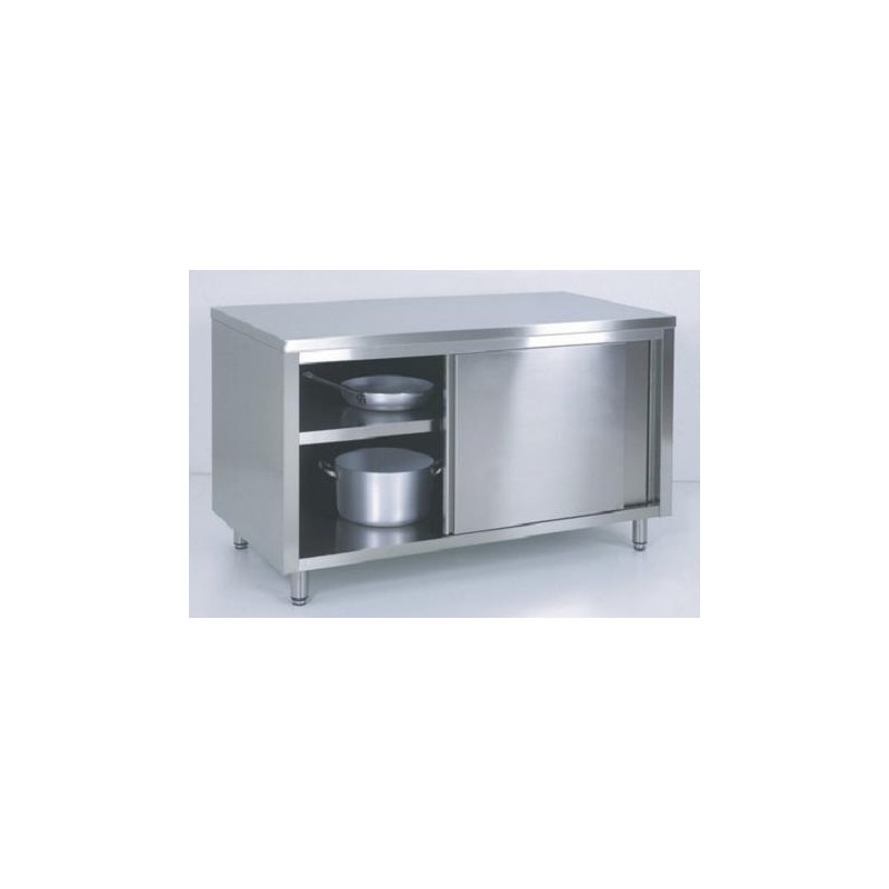 Armoire murale tout inox for Armoire cuisine inox