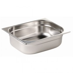 Bac Gastronorme format GN 2/3, inox profondeur 40mm, 65mm, 100mm ou 150mm