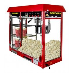 Machine à Pop Corn avec compartiment chauffant