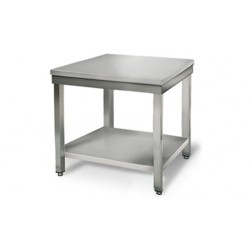 Table en inox centrale 80 cm