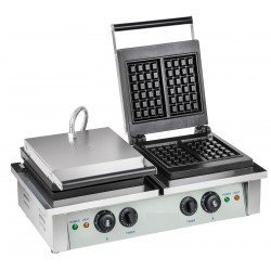 Gaufrier double professionnel